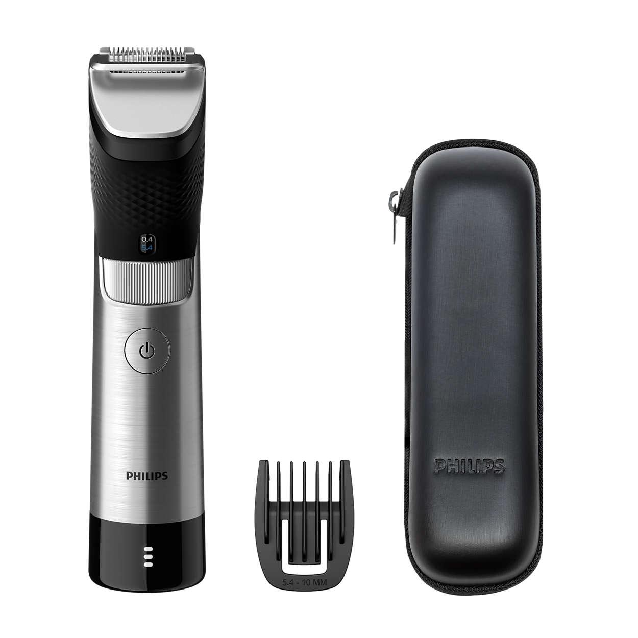 Precisión de acero definitiva para una barba perfecta