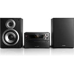 DVD micro music system