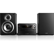 BTD5210/12  Sistem musik Micro DVD