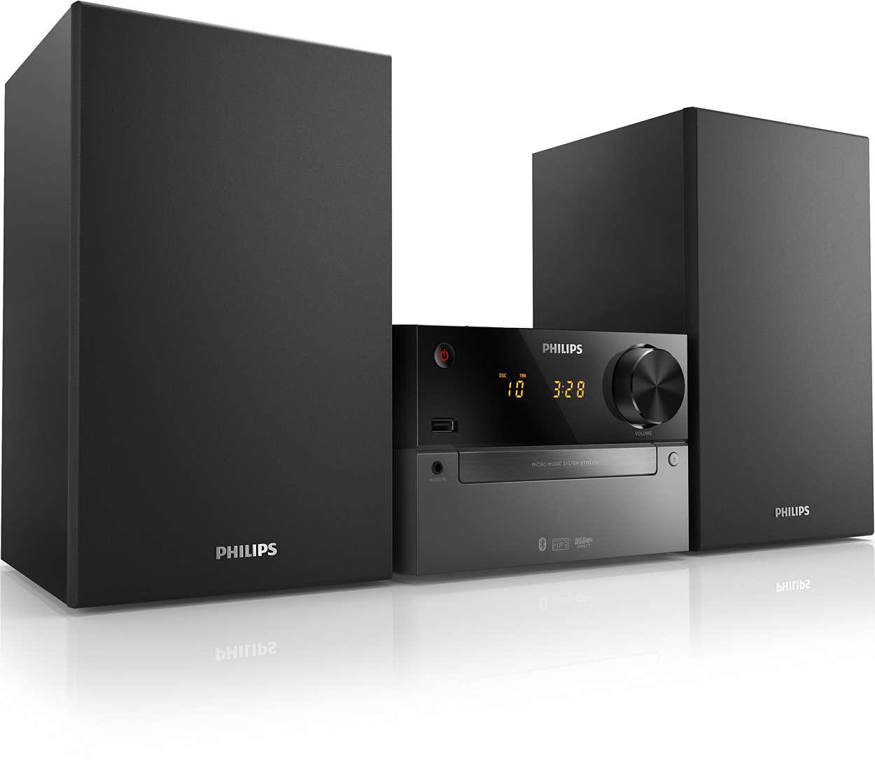 Mini-Stereoanlage BTM2310/12   Philips