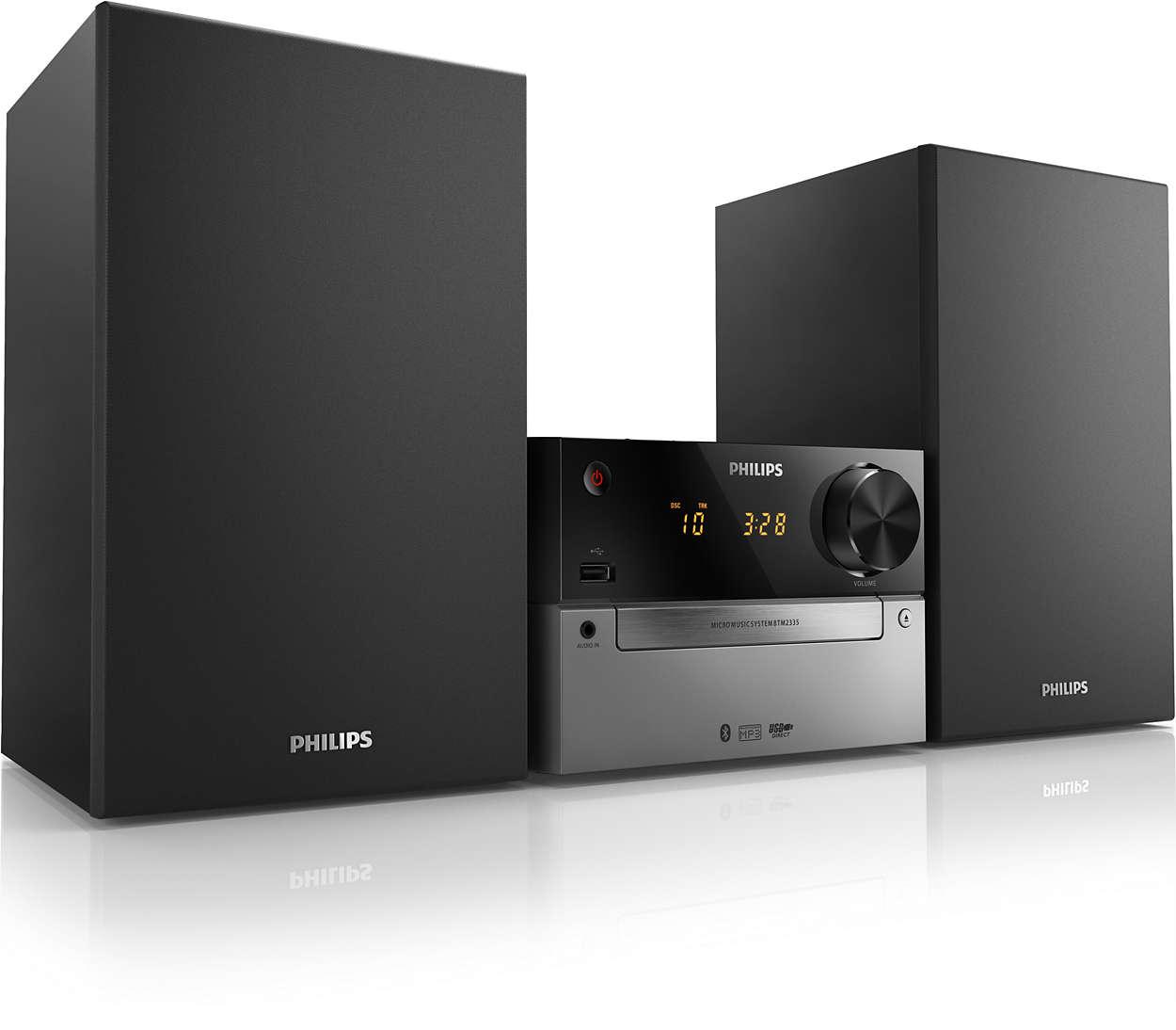 Mini Stereoanlage BTM2335/12   Philips