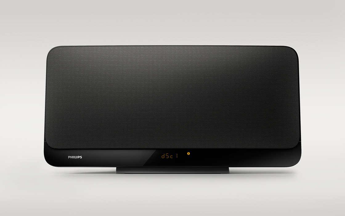 Sonido estéreo de alta fidelidad que se adapta a tu hogar