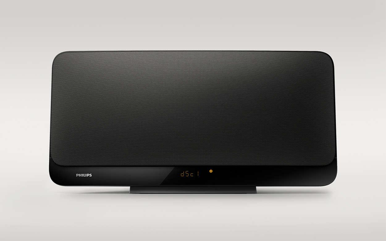 Som estéreo Hi-Fi que combina com a sua casa