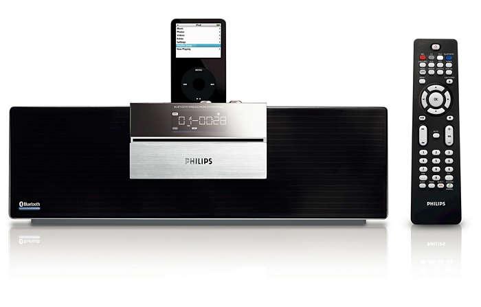 Απολαύστε ασύρματη μουσική μέσω της τεχνολογίας Bluetooth®