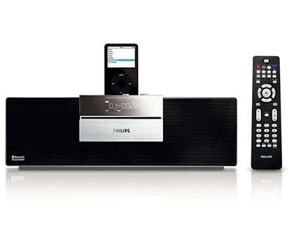 Ascolta la tua musica wireless tramite la tecnologia Bluetooth®