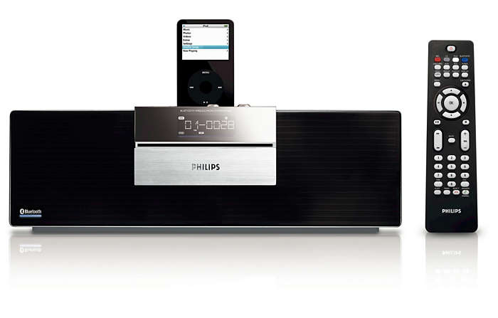 Lyssna på trådlös musik via Bluetooth®-teknik