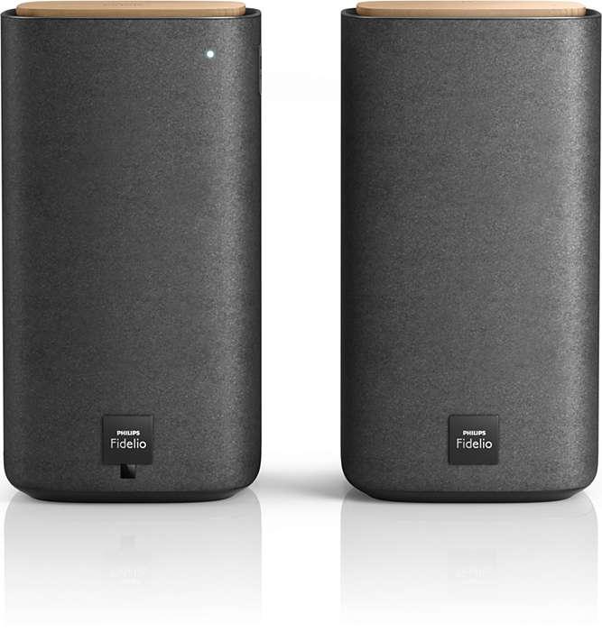 Vezeték nélküli sztereó hangsugárzók