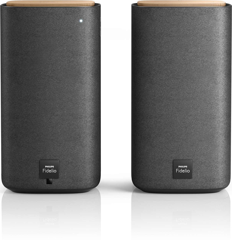 Bezdrôtové stereofónne reproduktory