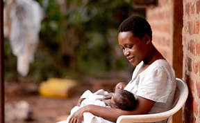 Helping to reduce infant mortality in Uganda