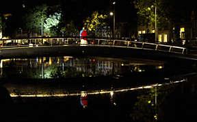 Intelligente Beleuchtung für eine sichere Stadt