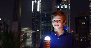 A LED education for Jake in Dubai