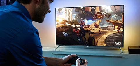Philips-TV Ambilight in gamingmodus
