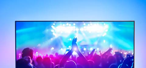 Philips-TV Ambilight in muziekmodus