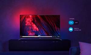 Демонстрация телевизоров Philips Ambilight