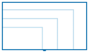Philips TV screensize