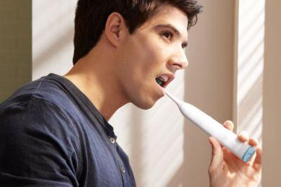 Brosse à dents manuelle et électrique