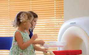 Child friendly ambient healthcare