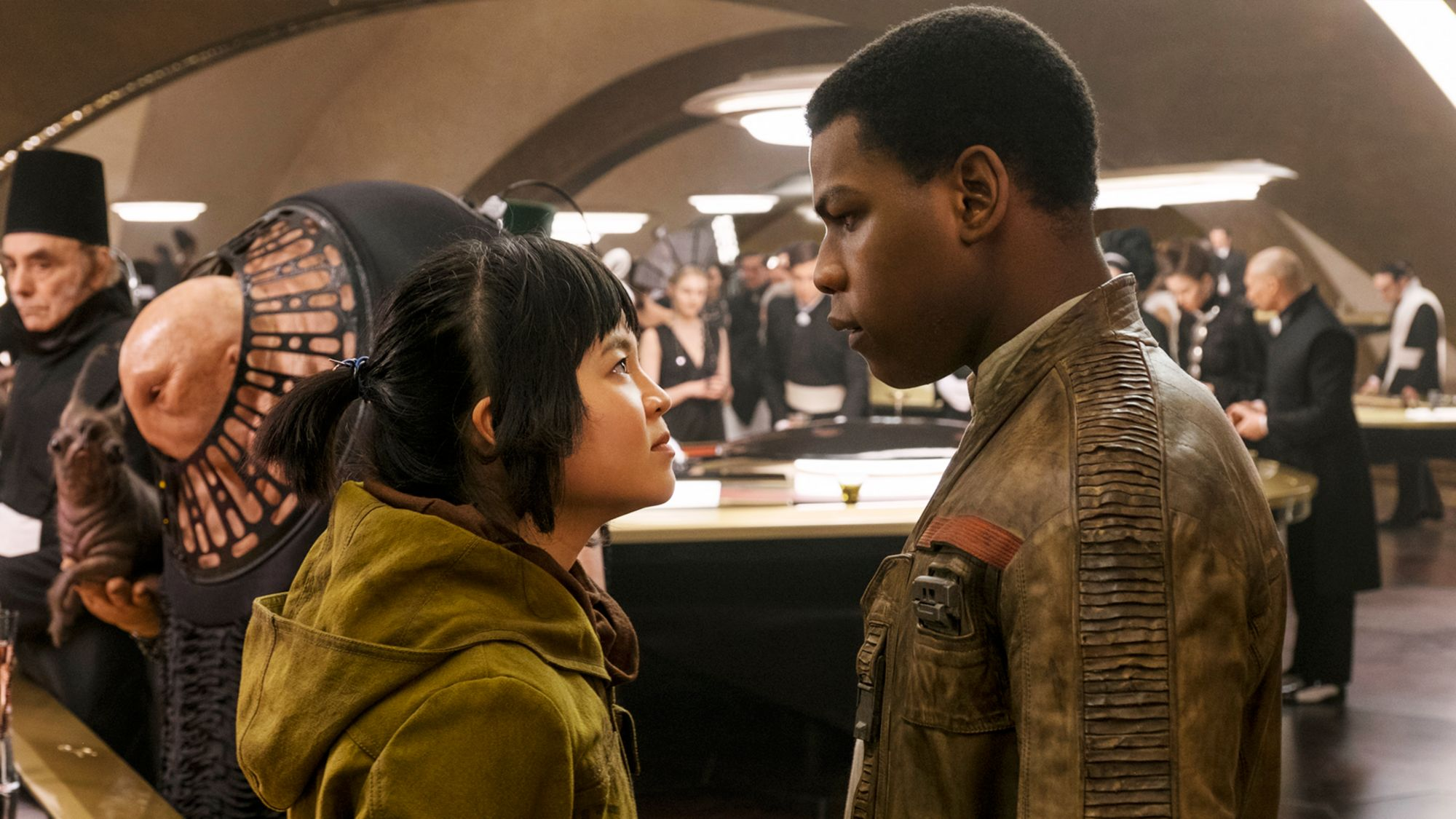 Star Wars The Last Jedi hub: Phil and Rose talking