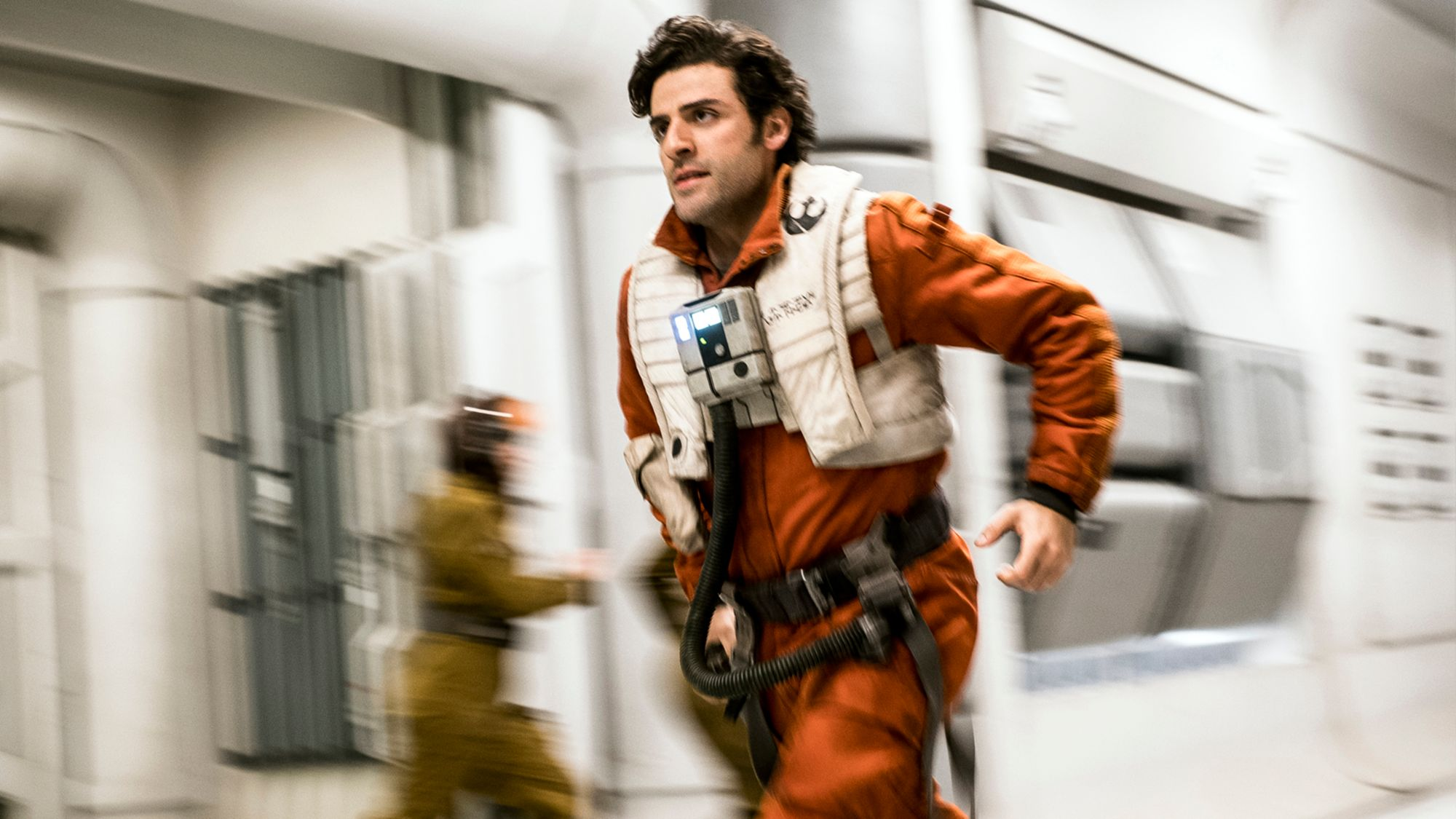 Star Wars The Last Jedi hub: Poe  running