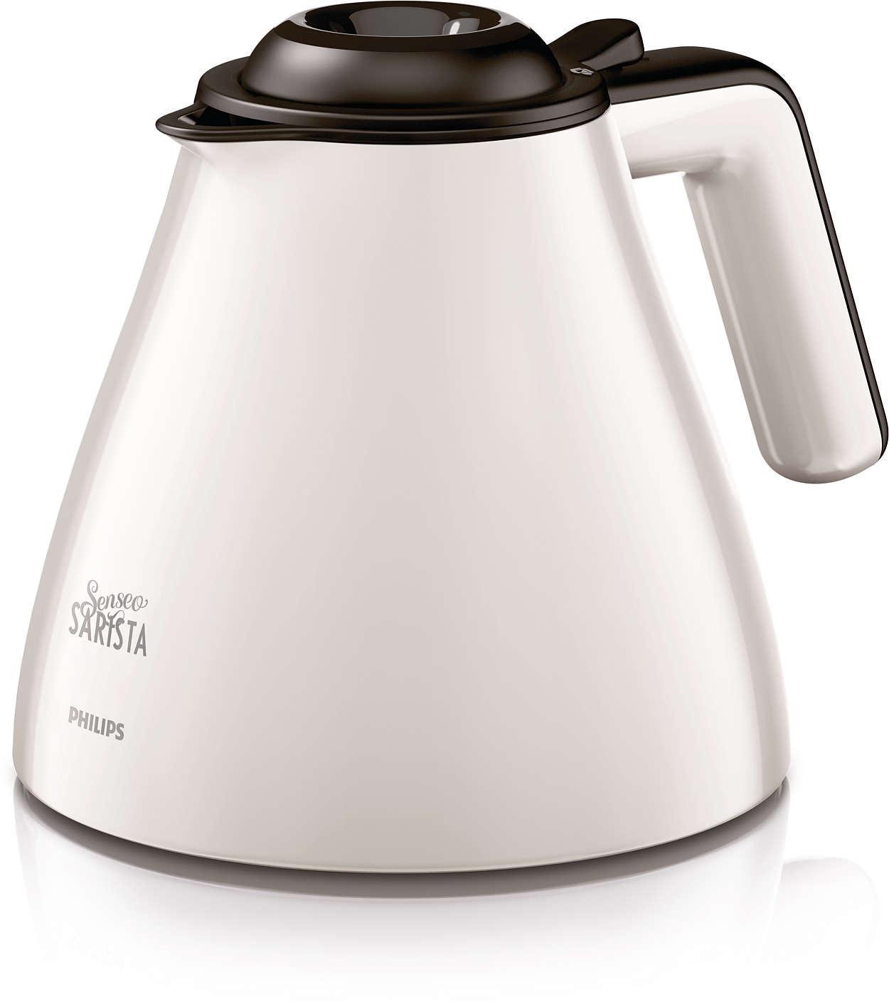 Genießen Sie eine volle Kanne leckeren Kaffees