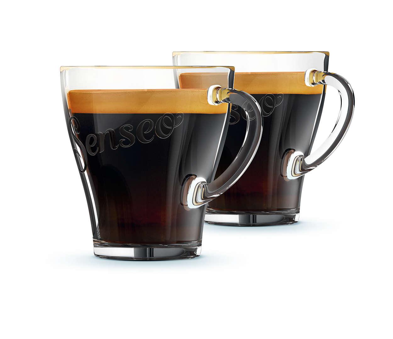 Savourez votre café SENSEO® dans vos tasses préférées