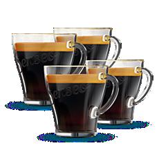 CA6511/00 SENSEO® Tasses à café en verre
