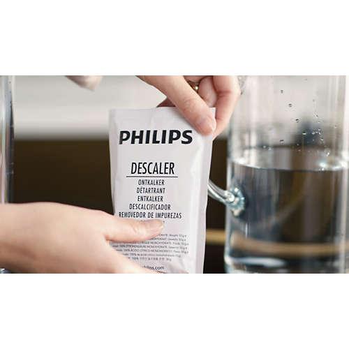 Entkalker und 2-Tassen-Padhalter für Senseo Original