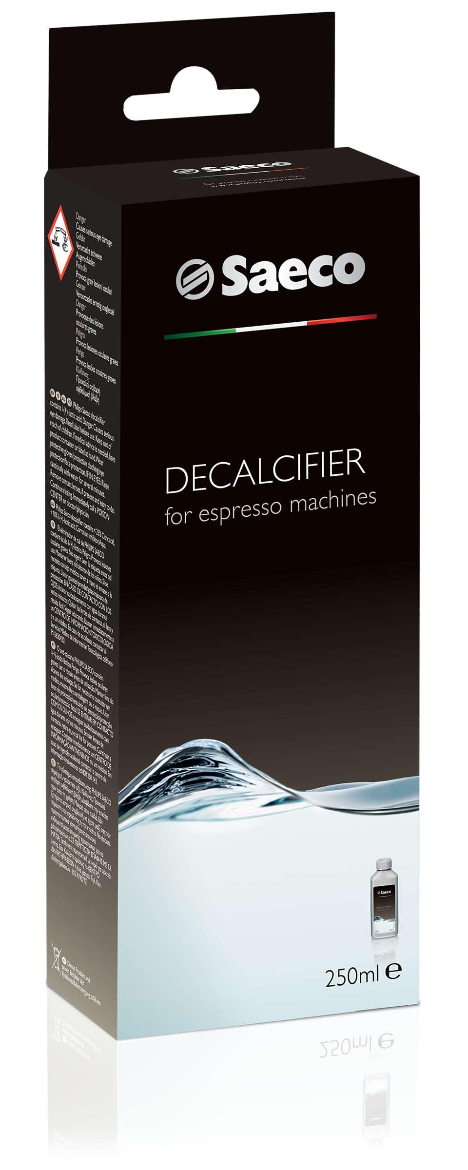 Täydellinen suojaus espressokeittimelle