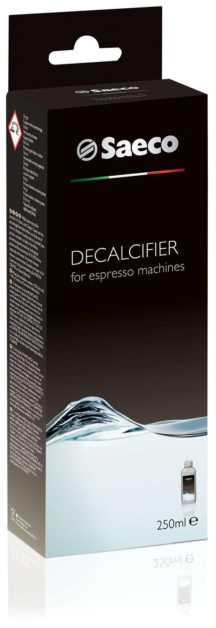 Nepriekaištinga espreso kavos aparato apsauga