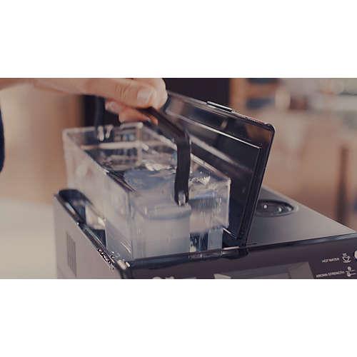 Espressoapparaatontkalker