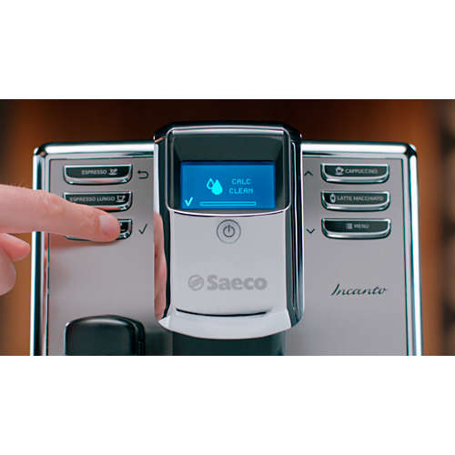Avkalkingsmiddel for espressomaskin