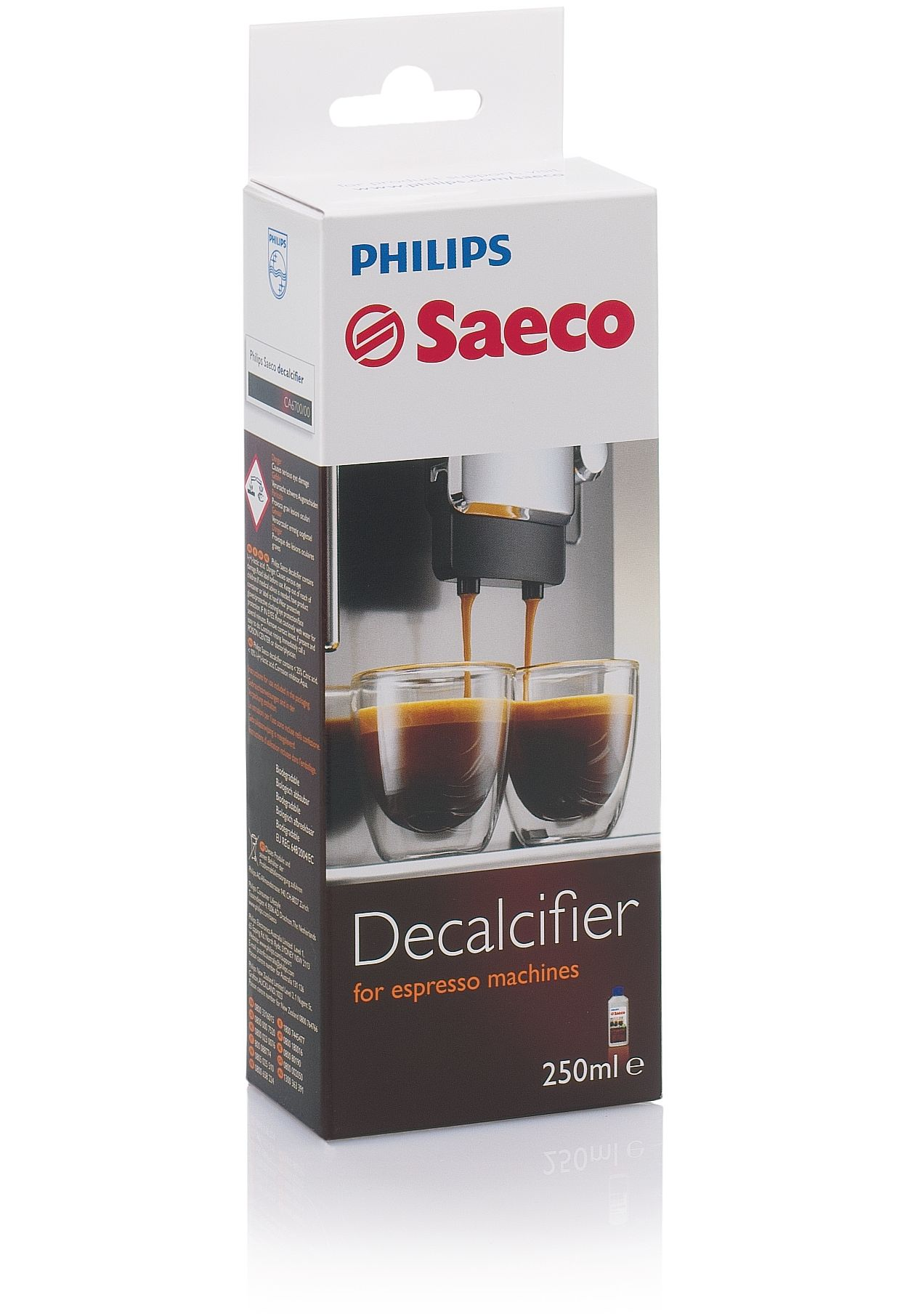 Electronic Where To Buy Descaler For Coffee Machines espresso machine descaler ca670047 saeco perfect protection for your machine