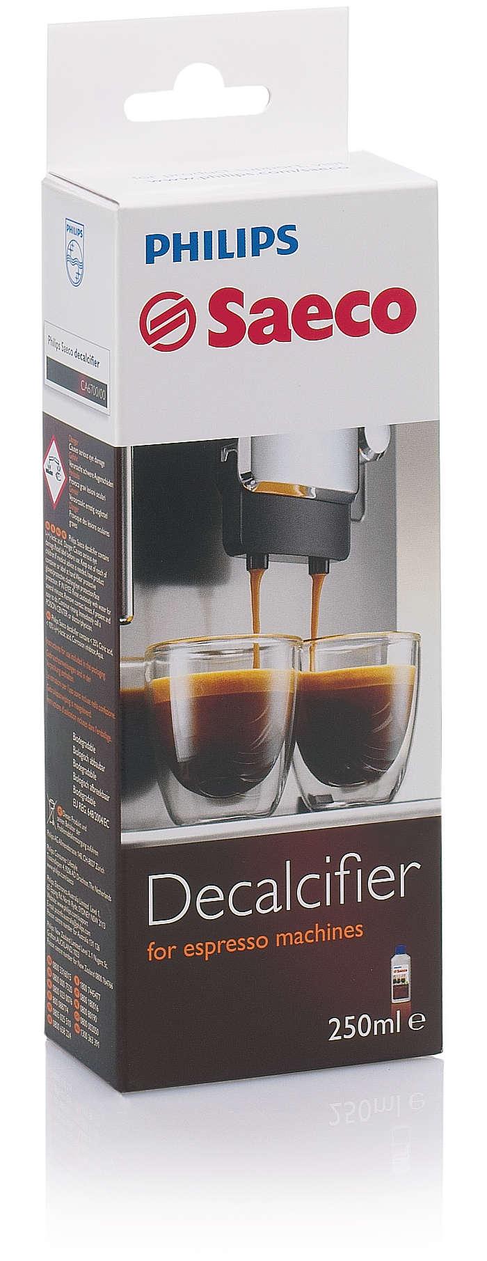 Une protection parfaite de votre machine à espresso