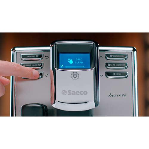 Entkalker für Espressomaschinen