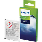 Philips Milk circuit cleaner sachets CA6705/10 Same as CA6705/60 For 6 uses - Use monthly Prolong machine lifetime Brew better tasting coffee