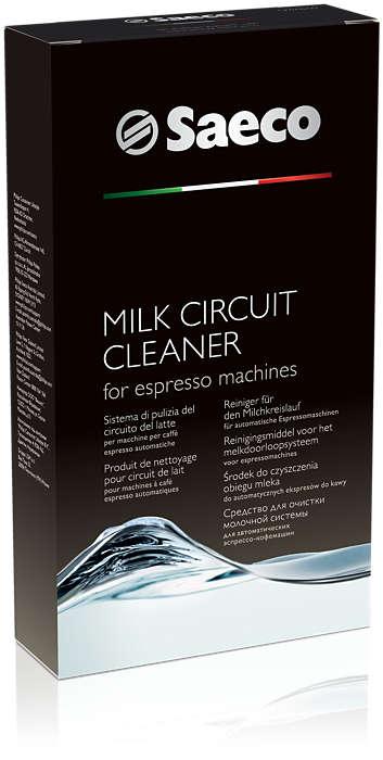 Dokonale vyčistí okruh prietoku mlieka