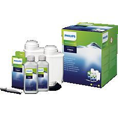 CA6706/10  Zestaw do konserwacji z filtrami wody BRITA INTENZA+