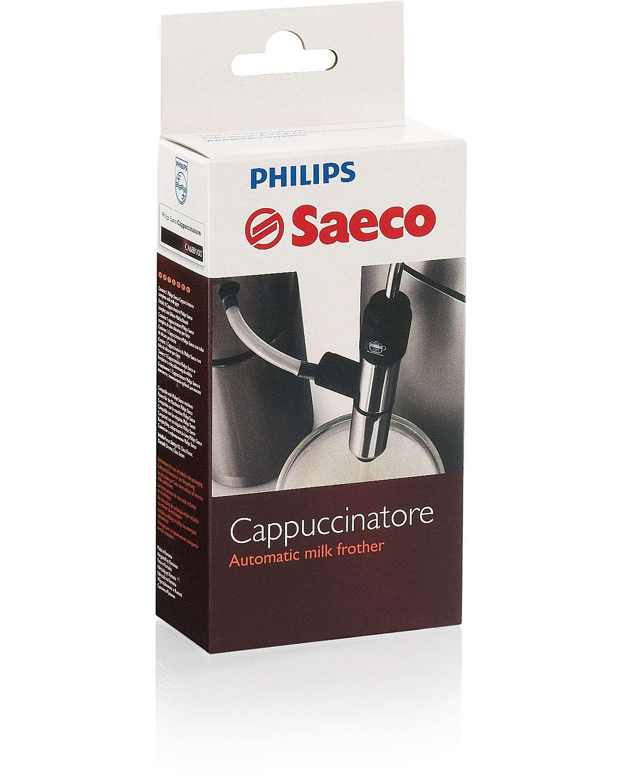 De originele Italiaanse cappuccinatore voor uw Saeco