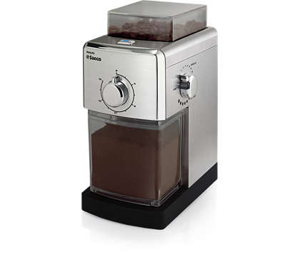 Grind your favorite coffee beans