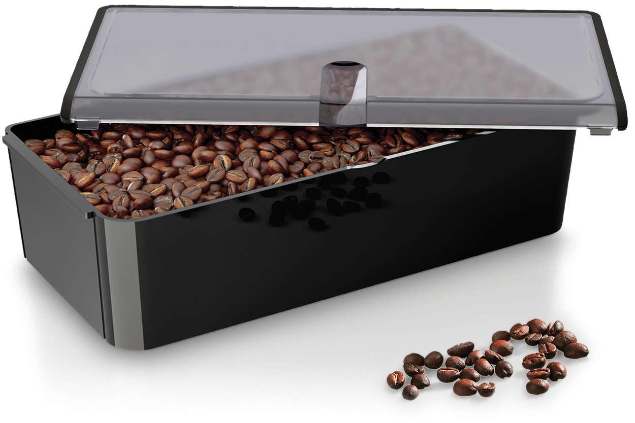 Experimentujte schutěmi kávy