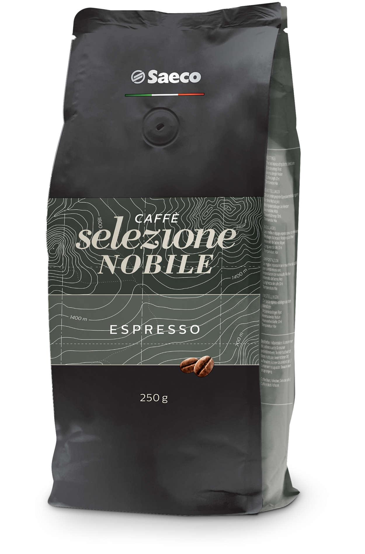 Tout commence par des grains de café exceptionnels