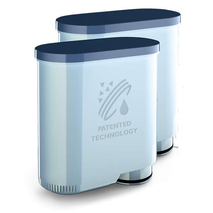 Išvirsite iki 5000 puodelių be aparato nukalkinimo*