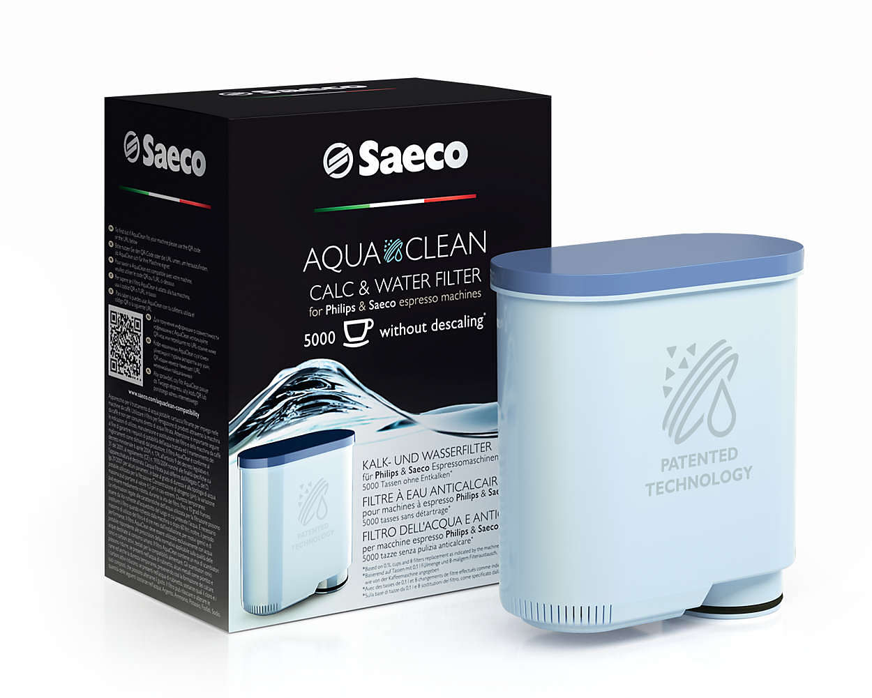 Waterfilter Aquaclean Calc And Water Filter Ca6903 47 Saeco