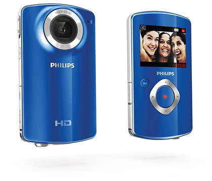 Capture and share good times in HD