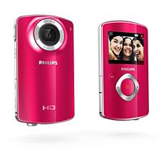 CAM100PK/00  HD camcorder