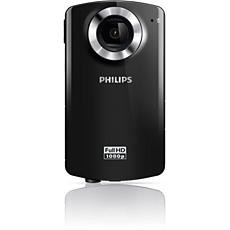 CAM102BL/00 -    HD camcorder