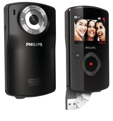 Philips CAM110BL/00 HD Camcorder Drivers for Windows 10