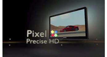 Pixel Precise HD para imagens extremamente vivas e nítidas