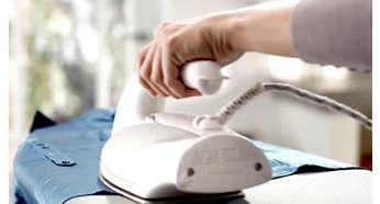 Drypstop-systemet holder dit tøj pletfrit under strygningen