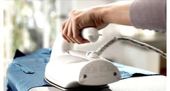Système antigoutte pour éviter de tacher les vêtements au cours du repassage